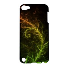 Fractal Hybrid Of Guzmania Tuti Fruitti And Ferns Apple Ipod Touch 5 Hardshell Case by jayaprime