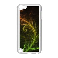 Fractal Hybrid Of Guzmania Tuti Fruitti And Ferns Apple Ipod Touch 5 Case (white) by jayaprime