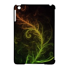 Fractal Hybrid Of Guzmania Tuti Fruitti And Ferns Apple Ipad Mini Hardshell Case (compatible With Smart Cover) by jayaprime