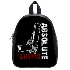 Absolute Ghetto School Bags (small)  by Valentinaart