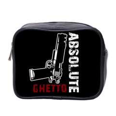 Absolute Ghetto Mini Toiletries Bag 2 Side by Valentinaart