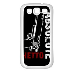 Absolute Ghetto Samsung Galaxy S3 Back Case (white)