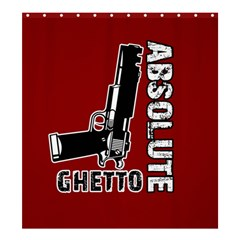 Absolute Ghetto Shower Curtain 66  X 72  (large)  by Valentinaart