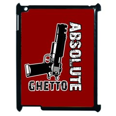 Absolute Ghetto Apple Ipad 2 Case (black) by Valentinaart