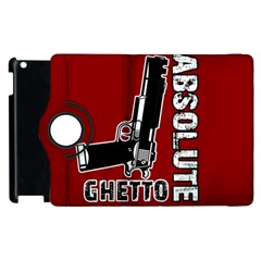 Absolute Ghetto Apple Ipad 3/4 Flip 360 Case by Valentinaart