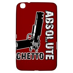 Absolute Ghetto Samsung Galaxy Tab 3 (8 ) T3100 Hardshell Case  by Valentinaart