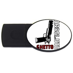 Absolute Ghetto Usb Flash Drive Oval (2 Gb) by Valentinaart