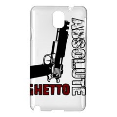 Absolute Ghetto Samsung Galaxy Note 3 N9005 Hardshell Case by Valentinaart