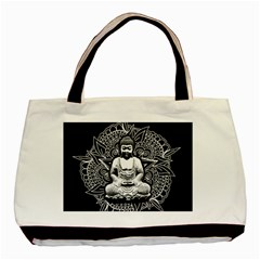 Ornate Buddha Basic Tote Bag by Valentinaart