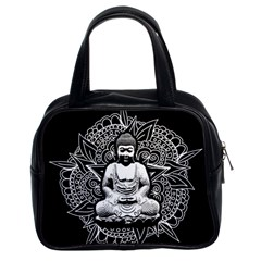 Ornate Buddha Classic Handbags (2 Sides) by Valentinaart