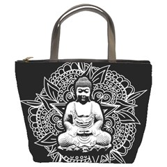 Ornate Buddha Bucket Bags by Valentinaart