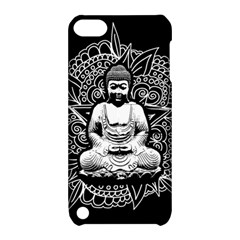 Ornate Buddha Apple Ipod Touch 5 Hardshell Case With Stand by Valentinaart
