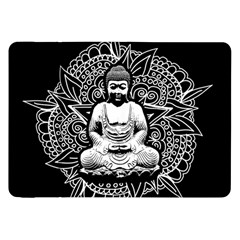 Ornate Buddha Samsung Galaxy Tab 8 9  P7300 Flip Case by Valentinaart
