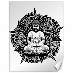 Ornate Buddha Canvas 12  X 16   by Valentinaart