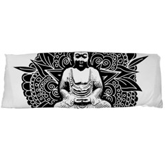 Ornate Buddha Body Pillow Case Dakimakura (two Sides) by Valentinaart