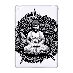 Ornate Buddha Apple Ipad Mini Hardshell Case (compatible With Smart Cover) by Valentinaart