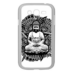 Ornate Buddha Samsung Galaxy Grand Duos I9082 Case (white) by Valentinaart