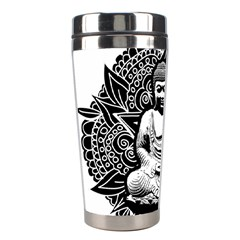 Ornate Buddha Stainless Steel Travel Tumblers by Valentinaart