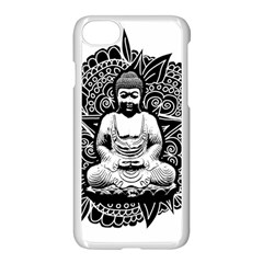 Ornate Buddha Apple Iphone 7 Seamless Case (white) by Valentinaart