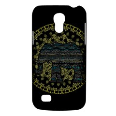 Ornate Mandala Elephant  Galaxy S4 Mini by Valentinaart