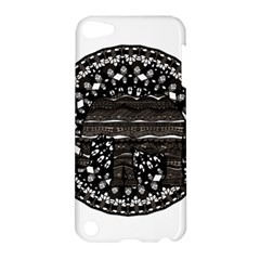 Ornate Mandala Elephant  Apple Ipod Touch 5 Hardshell Case by Valentinaart