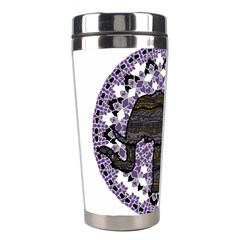 Ornate Mandala Elephant  Stainless Steel Travel Tumblers