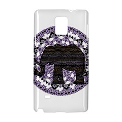 Ornate Mandala Elephant  Samsung Galaxy Note 4 Hardshell Case