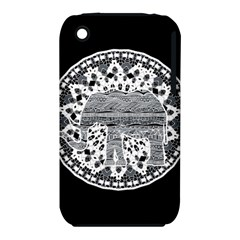 Ornate Mandala Elephant  Iphone 3s/3gs by Valentinaart