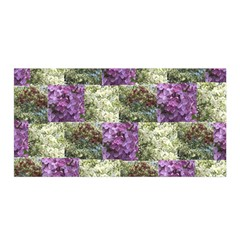 Vermont Spring Flowers Satin Wrap