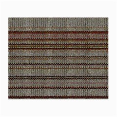 Stripy Knitted Wool Fabric Texture Small Glasses Cloth by BangZart