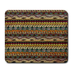 Aztec Pattern Large Mousepads by BangZart