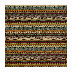 Aztec Pattern Medium Glasses Cloth (2 Side) by BangZart
