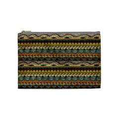 Aztec Pattern Cosmetic Bag (medium)  by BangZart