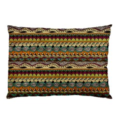 Aztec Pattern Pillow Case (two Sides) by BangZart