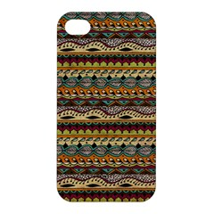 Aztec Pattern Apple Iphone 4/4s Premium Hardshell Case by BangZart