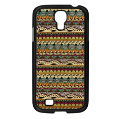 Aztec Pattern Samsung Galaxy S4 I9500/ I9505 Case (black) by BangZart