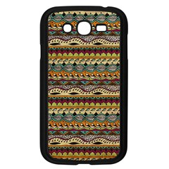 Aztec Pattern Samsung Galaxy Grand Duos I9082 Case (black)