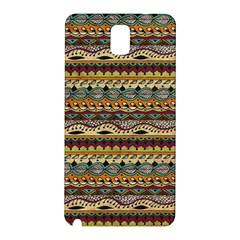Aztec Pattern Samsung Galaxy Note 3 N9005 Hardshell Back Case by BangZart