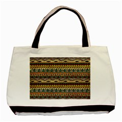 Aztec Pattern Basic Tote Bag