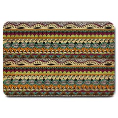 Aztec Pattern Large Doormat  by BangZart