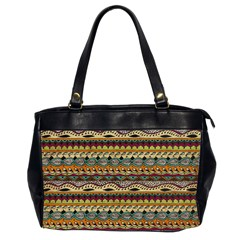 Aztec Pattern Office Handbags (2 Sides)  by BangZart