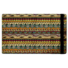 Aztec Pattern Apple Ipad 3/4 Flip Case by BangZart