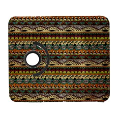 Aztec Pattern Galaxy S3 (flip/folio) by BangZart