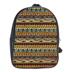 Aztec Pattern School Bags (xl)  by BangZart