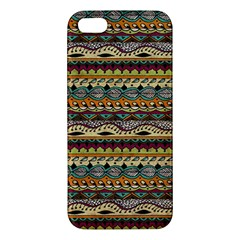 Aztec Pattern Apple Iphone 5 Premium Hardshell Case by BangZart