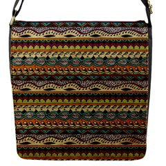 Aztec Pattern Flap Messenger Bag (s) by BangZart