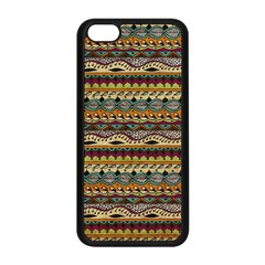 Aztec Pattern Apple Iphone 5c Seamless Case (black) by BangZart