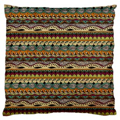 Aztec Pattern Standard Flano Cushion Case (two Sides)
