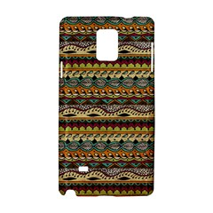 Aztec Pattern Samsung Galaxy Note 4 Hardshell Case