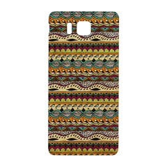 Aztec Pattern Samsung Galaxy Alpha Hardshell Back Case by BangZart